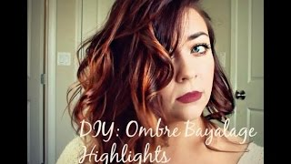 DIY: Bayalage Ombre Highlight AT HOME