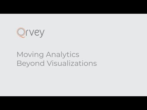 Moving Analytics Beyond Visualizations | Qrvey