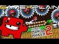 Super Meat Bros. Gets A Sequel in Mario Maker 2! (Super Meat Boy Forever)