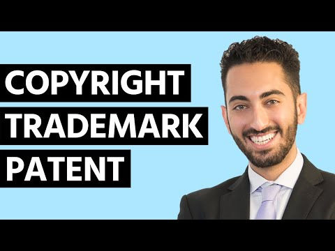 Difference Between Copyright Vs. Trademark Vs. Patent