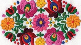 Вышивка Гладью - видео-образцы - 2019 / Embroidery - Video