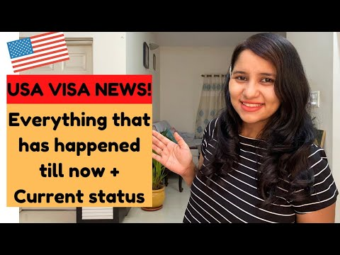 USA VISAS In India | Current Status + Update As On August 2020 | B1/B2, H1B, L1and F1