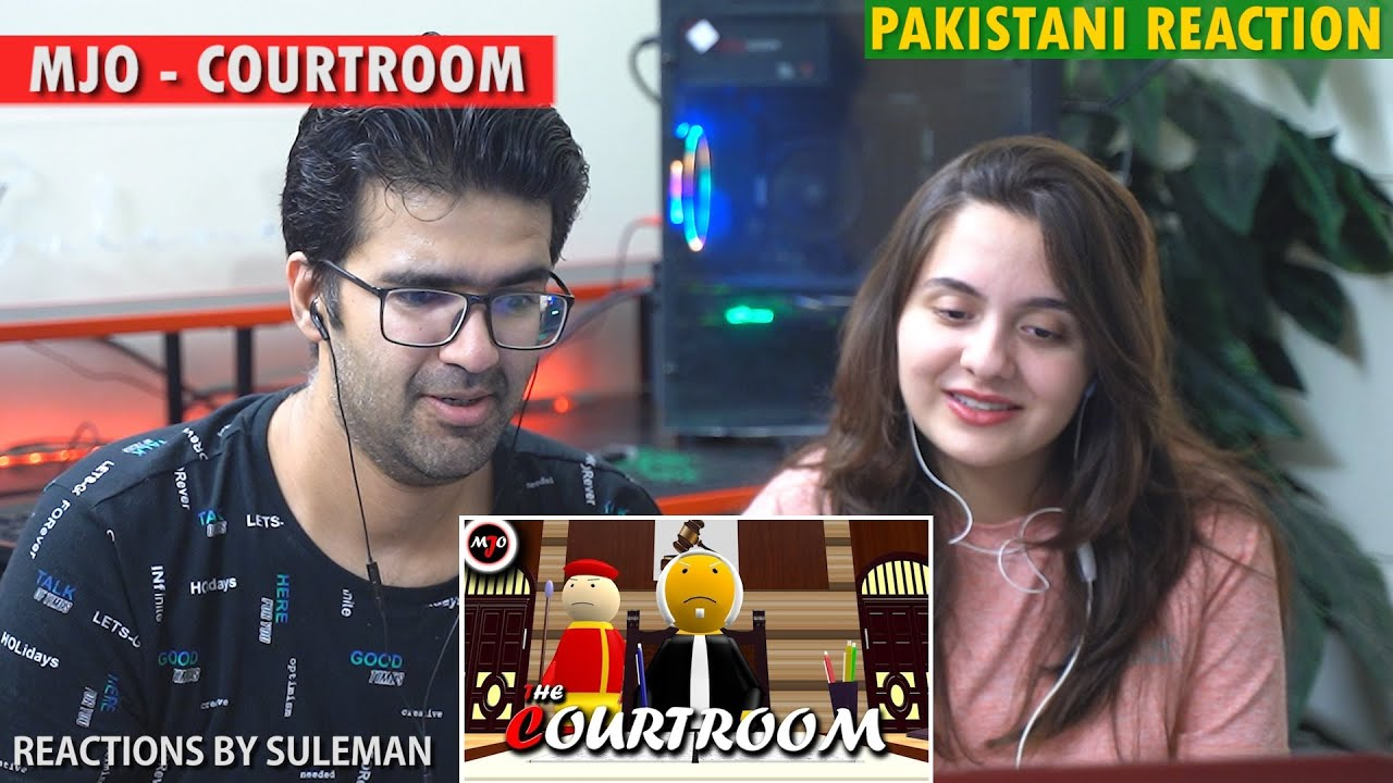 Pakistani Couple Reacts To MAKE JOKE OF ||MJO|| - THE COURTROOM