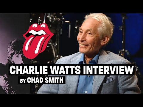 Bo and Jim - Red Hot Chili Peppers' Chad Smith, interviews Charlie Watts