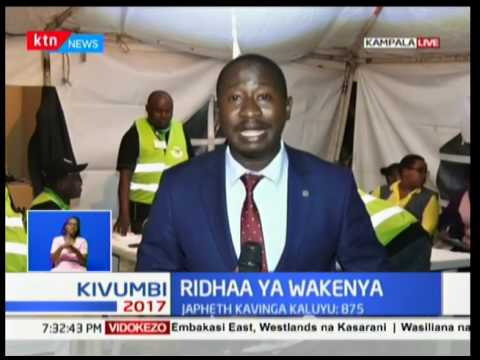 Results streaming in from elections carried out in Uganda
