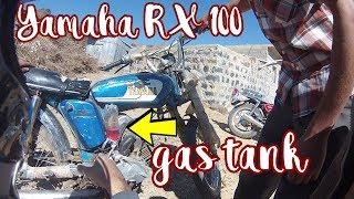Yamaha RX 100 w/ Soda Bottle as Gas Tank - YEMEN