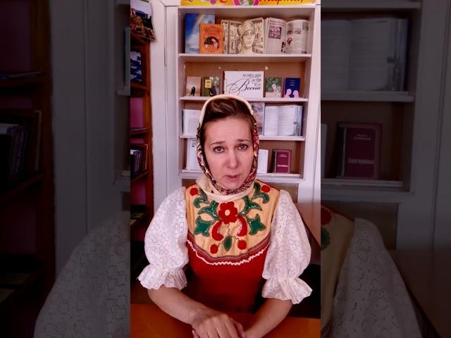 Изображение предпросмотра прочтения – ОльгаГоряинова читает произведение «Сказка Курочка Ряба» (Русский фольклор )