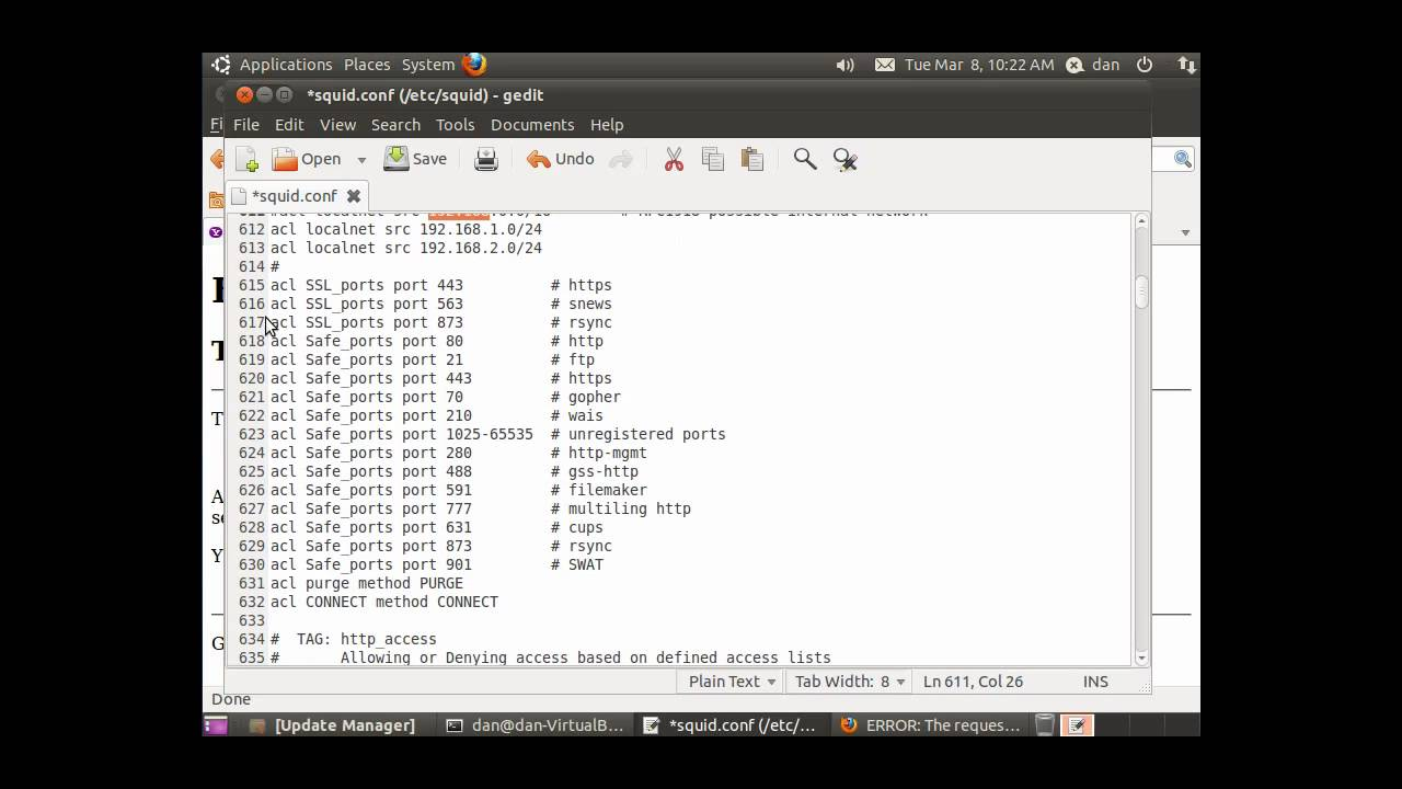 servidor proxy con windows server 2012 r2 con squid - YouTube