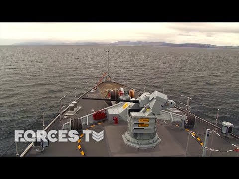 Ex Joint Warrior: Onboard The Royal Navy