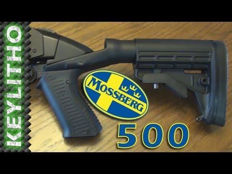 Mossberg 500 w/Knoxx, ATI, & Surefire Accessories