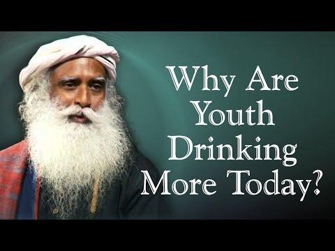 Nag Ashwin Asks Sadhguru – Why Are Youth Drinking More Today?