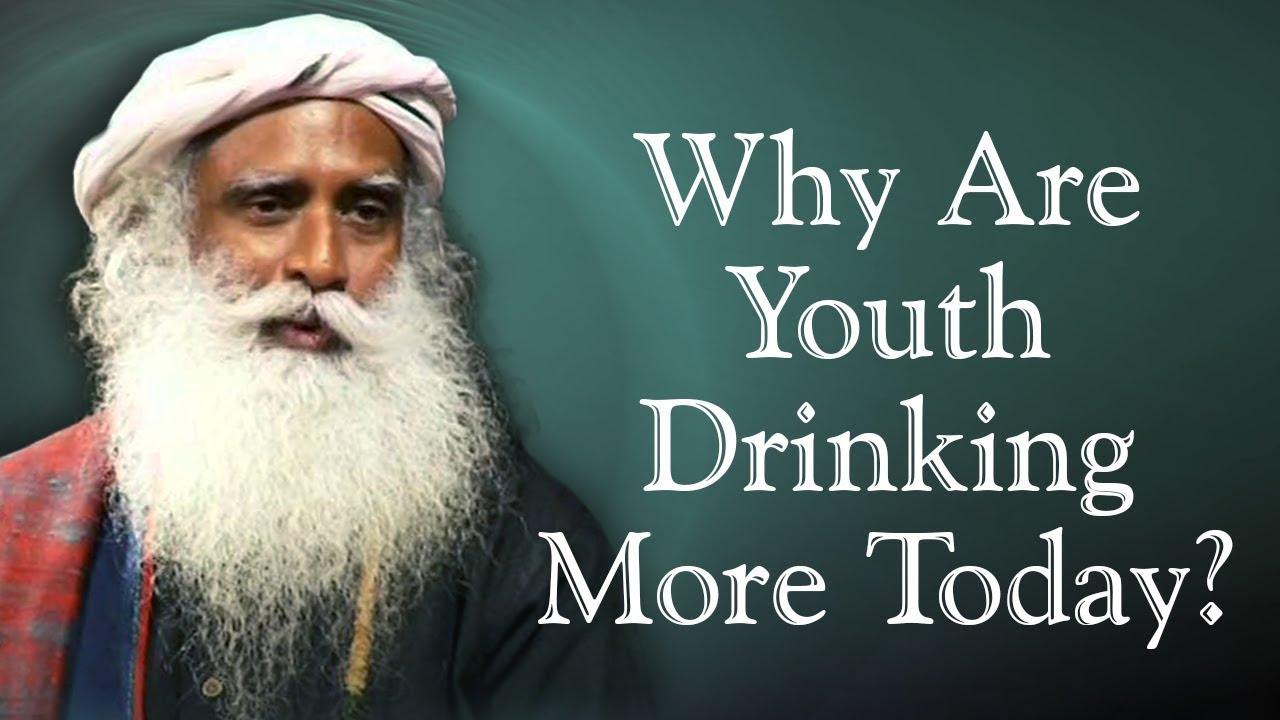 Nag Ashwin Asks Sadhguru - Why Are Youth Drinking More Today?