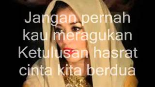 Reza Artamevia   Cinta Kita (on screen lyrics)