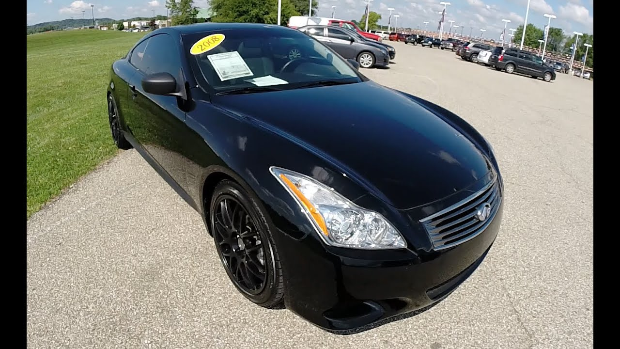 2008 infiniti g37 sport luxury coupe black b0189. Black Bedroom Furniture Sets. Home Design Ideas