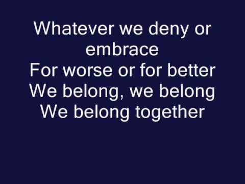 We Belong- Pat Benatar (Official Lyrics)