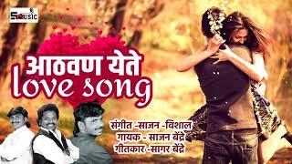 आठवण येते #Athvan yete#Love Song #sajan bendre#shivraj music marathi