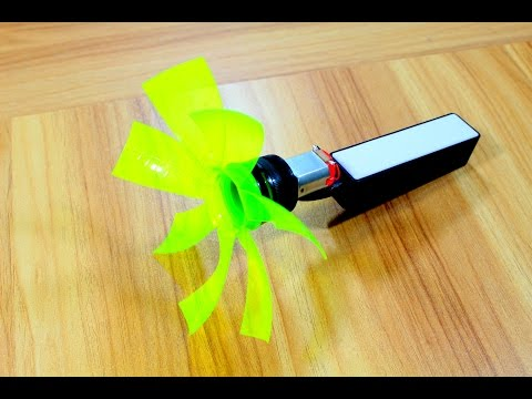 How To Make A Bottle Usb Cooling Fan