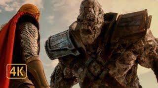 """""""Тор 2  Царство тьмы"""". Тор против каменного великана"""