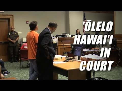 ʻŌlelo Hawaii In Court