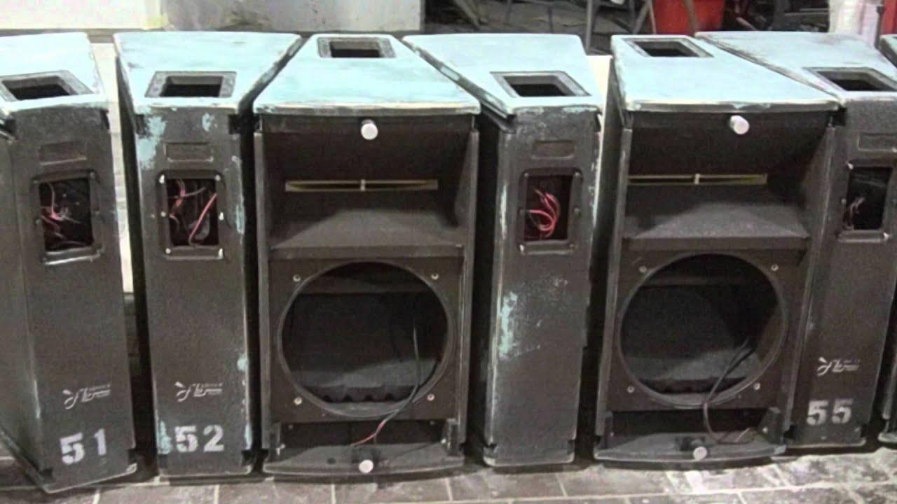 speaker enclosure | coated with Polyurea PUA - YouTube