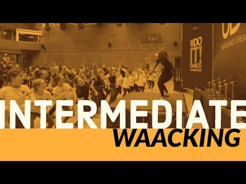Waacking With Sinead Darnell - Learn To Street Dance With UDOIT Dance Foundation