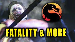 LEATHERFACE: Fatality-Brutality-Combos-Music Video (Mortal Kombat X)