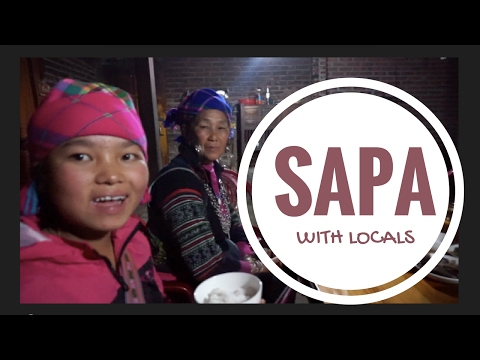 Living With a Tribe Family in Sapa:VIETNAM