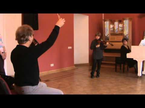 Master Class Pierre AMOYAL Kreisler Prelude and Allegro Fedor Kharlamov