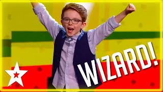 Little Wizard Aidan McCann on Britain's Got Talent 2020 | All Performances | Got Talent Global