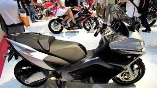 2014 aprilia srv 850 abs atc scooter walkaround 2013 eicma milan motorcycle exhibition