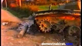 Uništeni tenk t84- Petrinja thumbnail