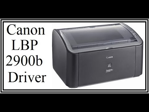 HOW TO INSTALL Canon LBP 2900B Printer Driver