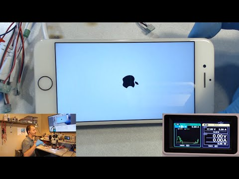 """iPhone 7 Stuck or """"Hung"""" on Apple logo and looping (Nothing left out)"""