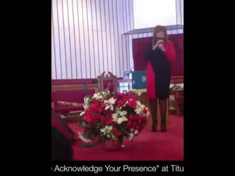 Karen Clark Sheard We Acknowledge You