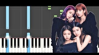 BLACKPINK - '뚜두뚜두 (DDU-DU DDU-DU) (Piano Tutorial) How To Play