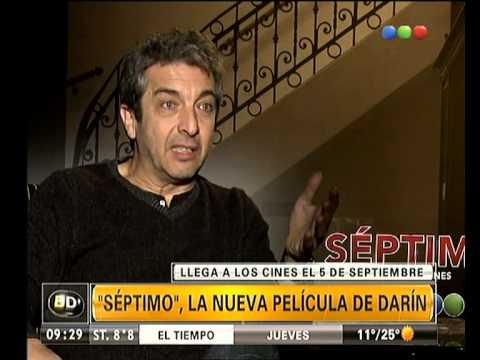 Ricardo Darín presenta Séptimo - Telefe Noticias