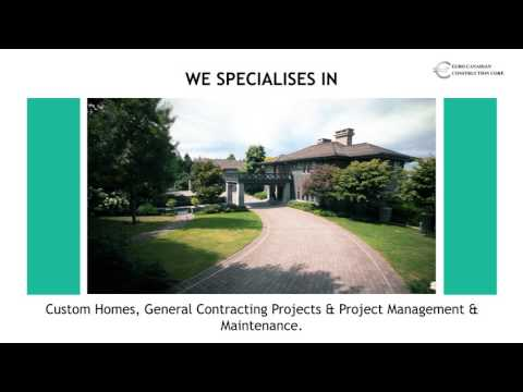 Custom Builders & General Contractors in Vancouver