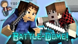 Minecraft: BATTLE-DOME w/Mitch & Friends Part 2 - BAJAN CANADIAN VS WOOFLESS