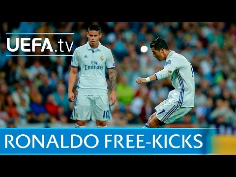 Cristiano Ronaldo: 5 great free-kicks