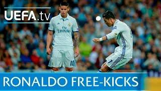 Cristiano Ronaldo: 5 great free-kicks