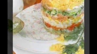 Столичный салат варианты сервировки