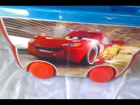 Organizador de juguetes de cars original 1556665921 youtube - Organizador de juguetes ...