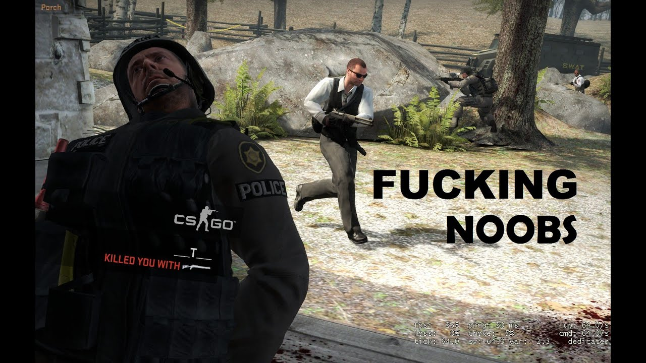 You are fucking noob skin