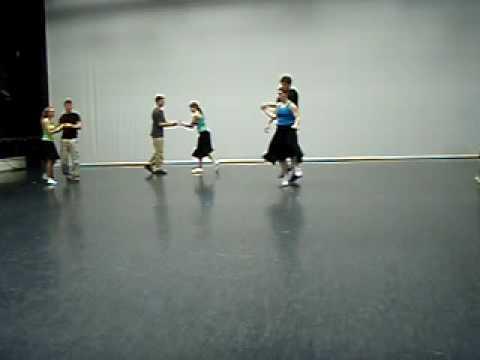 Swing performance by CC Ballroom