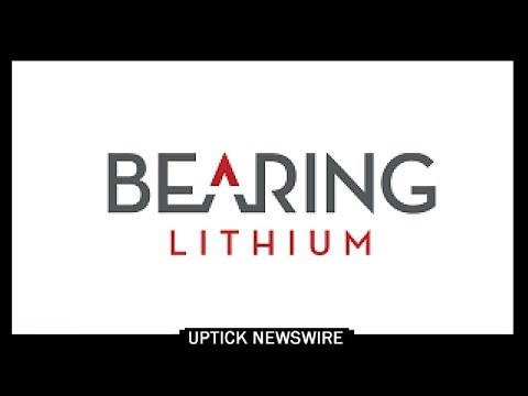 CEO Jeremy Poirier of Bearing Lithium Corp (OTCQB: BRGRF)