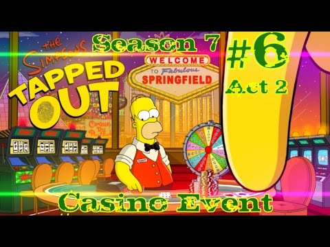 simpsons tapped out casino event