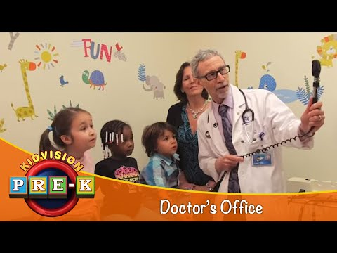 KidVision Pre-K Doctor's Office Field Trip