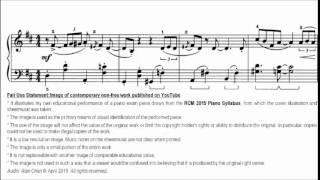 RCM Piano 2015 Grade 5 List C No.8 Norton Scamp Sheet Music