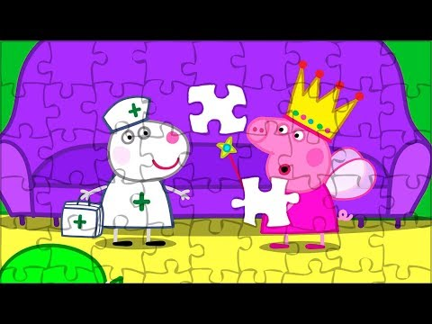 Peppa Pig Puzzle For Kids🤣April Fool Jigsaw Puzzle. Puzzle Video For Children. Peppa PIg Smart Game