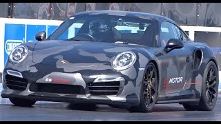 Quickest Porsche 991 In The UK - 1/4 Mile 9.74 @ 142mph